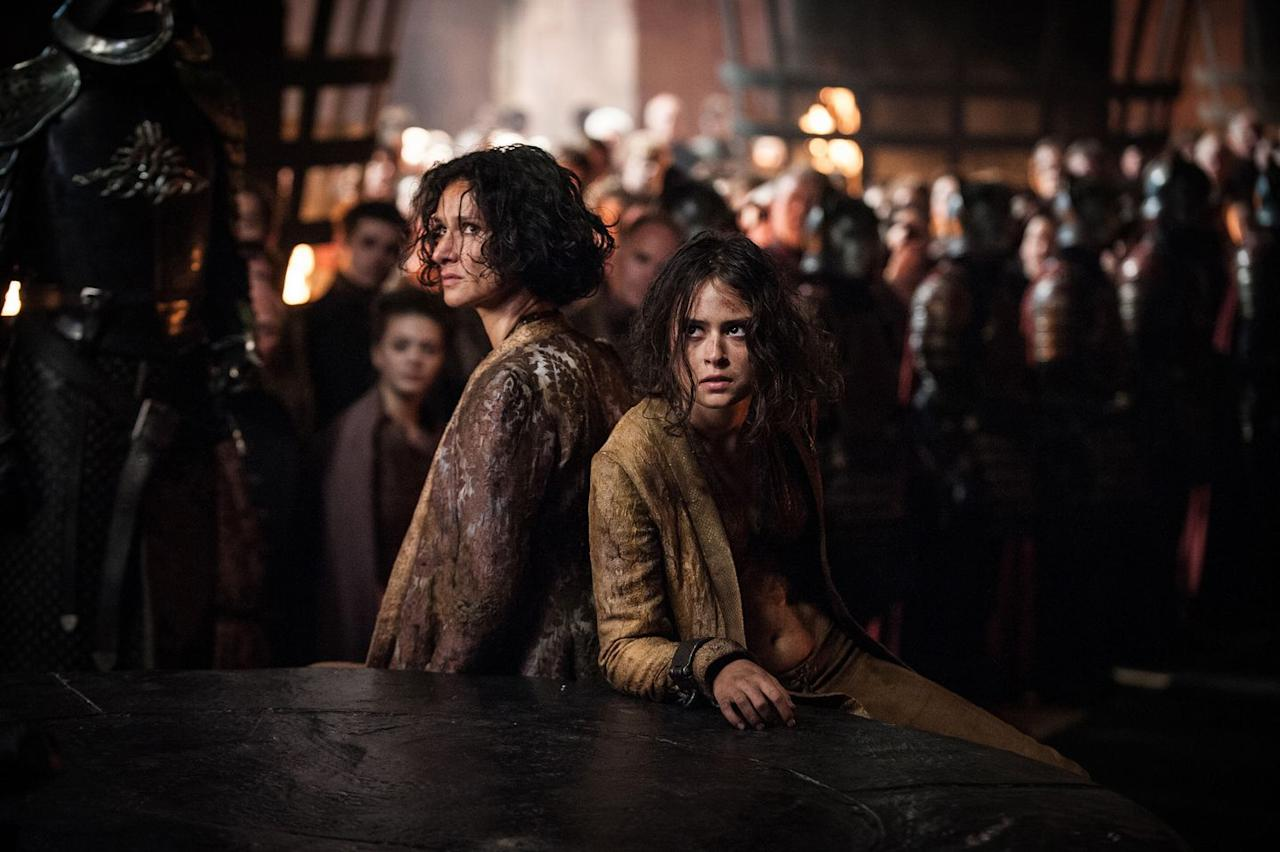 "<p>Tyene's death is brutal, but comes full circle. Euron brings Tyene and her mother, Ellaria Sand, to Cersei in Episode 3, ""The Queen's Justice.""  In an act of revenge on the people responsible for murdering her daughter Myrcella, Cersei poisons Tyene with The Long Farewell, the same deadly potion Ellaria and the Sand Snakes used to kill Myrcella. Cersei makes it clear she will not kill Ellaria. Instead, she keeps her locked in the same dungeon as her daughter's rotting corpse.</p>"