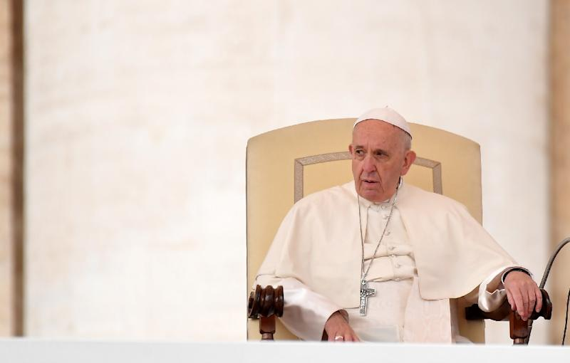 Pope Francis admits he made 'grave mistakes' in his handling of a sex abuse scandal in Chile (AFP Photo/TIZIANA FABI)