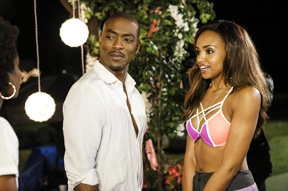 <p>Chantal (Meagan Tandy) looks so perfect, it's almost unreal.</p>