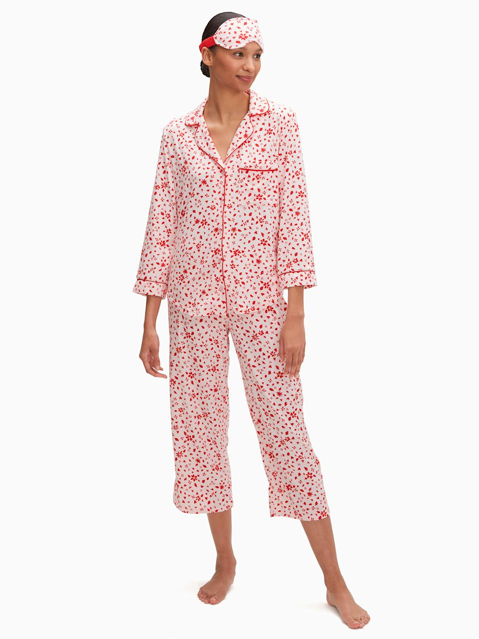 3/4 Sleeve Cropped PJs - $59 (originally $99)