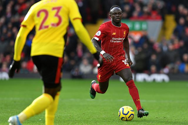 Sadio Mane had a goal ruled out for offside by VAR. (Credit: Getty Images)