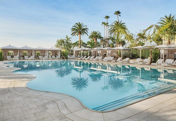 """<p><strong>Best for:</strong> Channeling a European beach getaway any time of year</p> <p>If Monaco or Saint Tropez have been on your travel list, head for Santa Barbara instead this summer. The sunny destination on California's central coast has been dubbed the American Riviera for its stunning beaches, perennially perfect weather, and a general air of casual elegance. Perhaps no place showcases it all better than the oceanfront <a href=""""https://cna.st/affiliate-link/2FoCAs6c5FtxgYDBrpSKBTVN5mAeG63JoVeS9av5NSA3B4gxcYkeXryP7cApJAcSvbBEvX3FzursU9iuMf4tay7gNtB3DExPQdMt9GumNqJ6qoDSogMUAA?cid=5ea9d3e779956b30588fa3a4"""" rel=""""nofollow noopener"""" target=""""_blank"""" data-ylk=""""slk:Rosewood Miramar"""" class=""""link rapid-noclick-resp"""">Rosewood Miramar</a>. Reopened in 2019 after a full rebuild of the original historic property, the resort recalls an opulent private residence spanning 16 lush, manicured acres with gardens, a rolling green lawn, and a private beach. The host of kid-friendly offerings—a family pool, lawn games, beach toys, and even children's robes and spa treatments—will make families feel right at home. </p> <p><strong>Book now:</strong> <a href=""""https://cna.st/affiliate-link/GxyGifxJVt8eS46RH4tHmENL8vrWShhCAd6ygRx8ocoupkMyBWAFFTidB751Sp6xrqxfdXz4sz93xvjjjZ4e8x4oBFdEXK9gwmkfUQULmVxr6KBSMCGFdFEu2e8HNCjH3MXP8ZNf2BVZrgp1xitWrhHUeQGriez3aghPvvFCaLd4?cid=5ea9d3e779956b30588fa3a4"""" rel=""""nofollow noopener"""" target=""""_blank"""" data-ylk=""""slk:From $1,995 per night, hotels.com"""" class=""""link rapid-noclick-resp"""">From $1,995 per night, hotels.com</a></p>"""