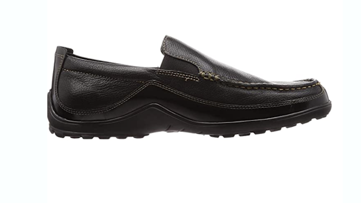 These leather shoes are at a great price.