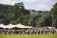 """<p>Head to the majestic Brecon Beacons to bathe in the sounds of Fleet Foxes, Grizzly Bear, Mount Kimbie and other chilled out artists. <a rel=""""nofollow noopener"""" href=""""http://www.greenman.net/line-up/2018/"""" target=""""_blank"""" data-ylk=""""slk:From August 16 – 19"""" class=""""link rapid-noclick-resp"""">From August 16 – 19</a>.<em>[Photo: Green Man]</em> </p>"""