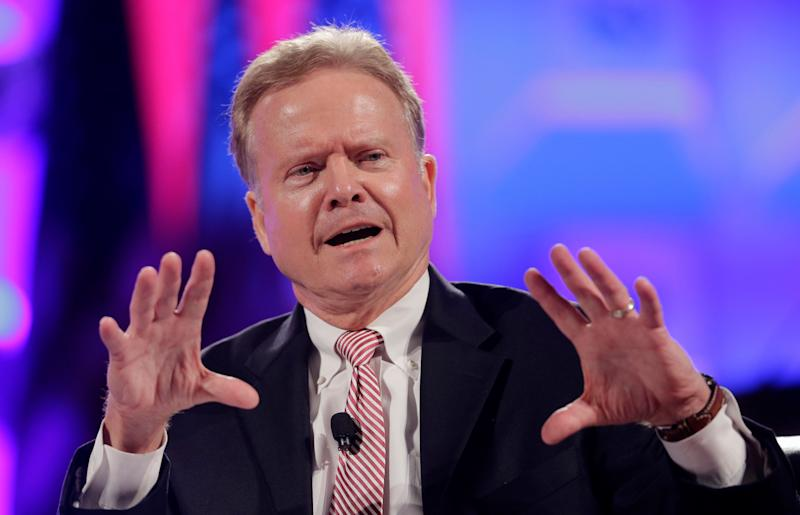 """Webb announced he was <a href=""""http://www.huffingtonpost.com/2015/10/20/jim-webb-drops-out_n_8337898.html"""">ending his campaign</a> on Oct. 20, 2015."""