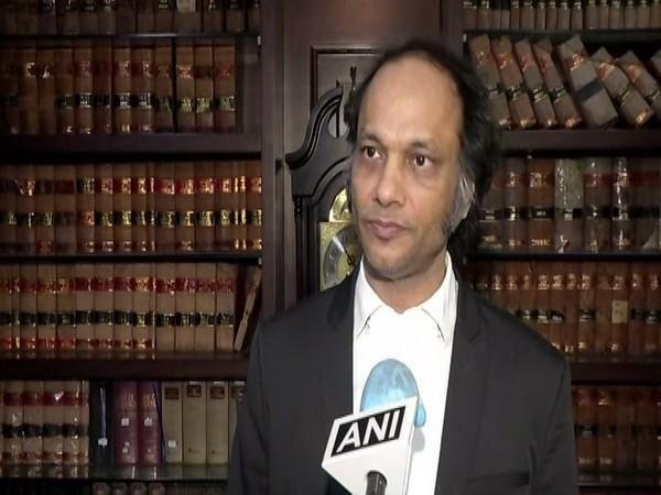Advocate Vijay Aggarwal speaks to ANI in New Delhi on Thursday. (Photo/ANI)