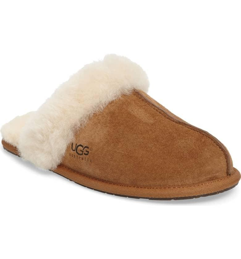 <p>Who isn't lusting over a pair of these <span>UGG Scuffette II Water Resistant Slippers</span> ($90)? They're the only shoes we want to be in when we're at home.</p>