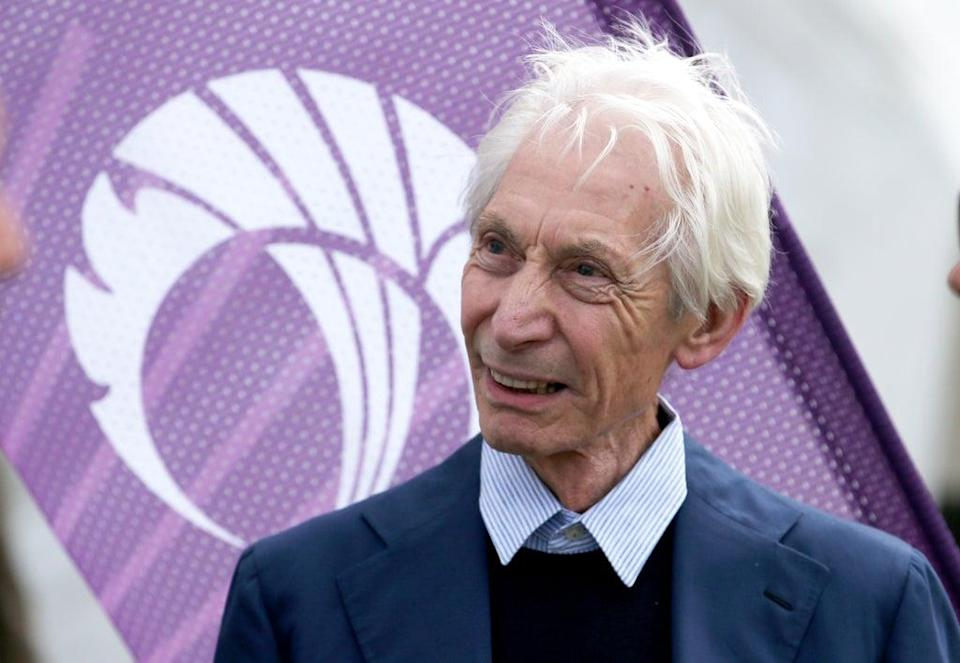 Charlie Watts attending a One Day International between Scotland v England (Jane Barlow/PA) (PA Wire)