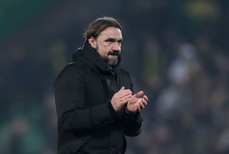 Struggling Norwich will not be 'panic buying', says Farke