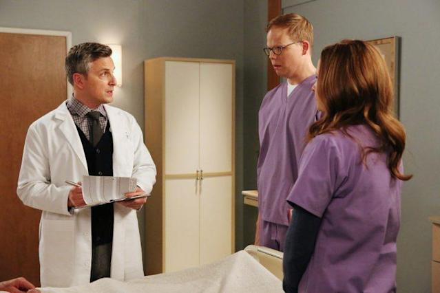 Ben Willbond as Dr. Ericson, Jeff Hiller as Jeff (Photo by: Michael Yarish/USA Network)