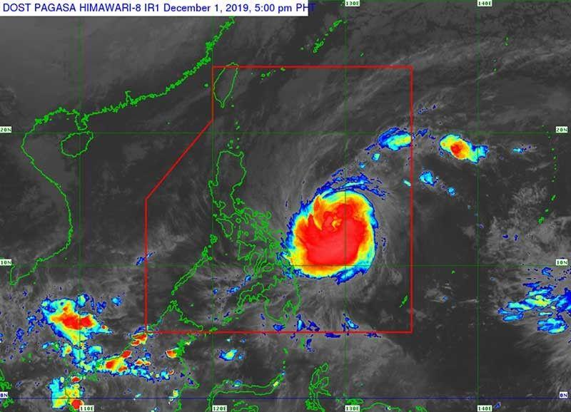 More areas under storm alert as 'Tisoy' nears