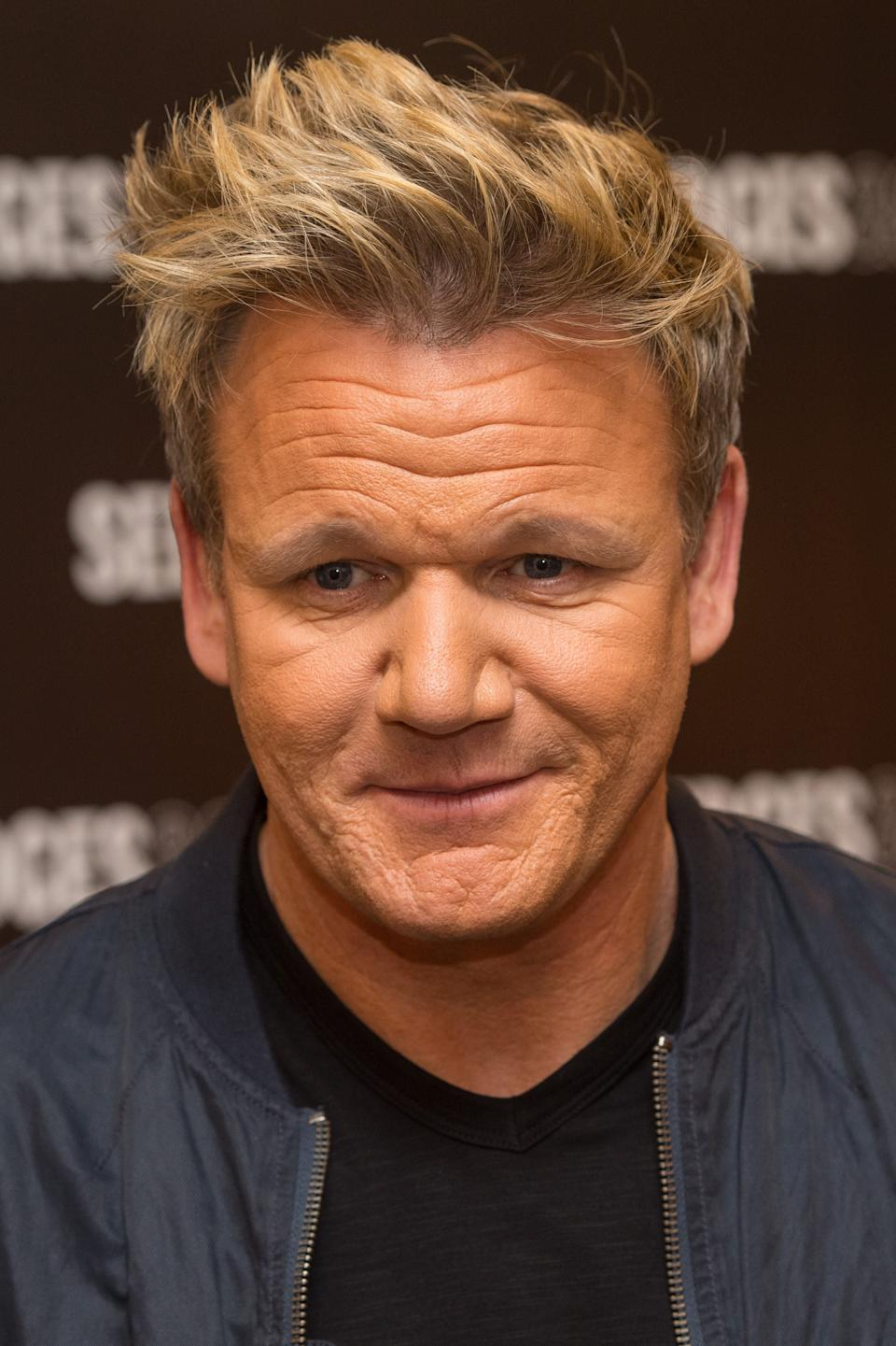 <p>Gordon Ramsay's signature Wagyu burger will cost £80</p>PA