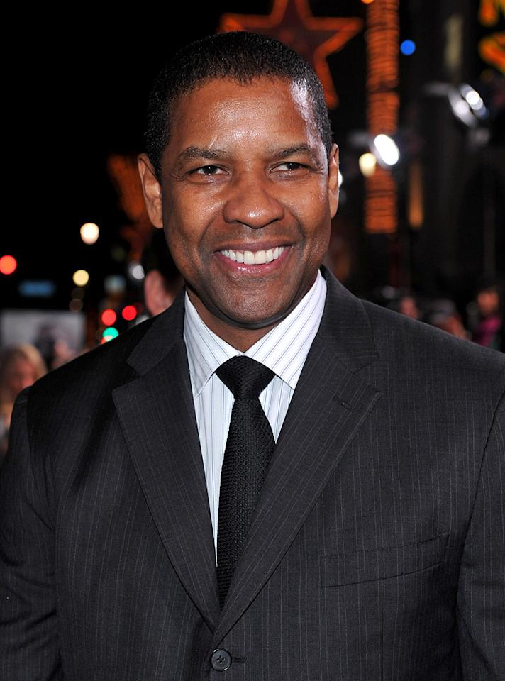 "<a href=""http://movies.yahoo.com/movie/contributor/1800021631"">Denzel Washington</a> at the Los Angeles premiere of <a href=""http://movies.yahoo.com/movie/1810067275/info"">The Book of Eli</a> - 01/11/2010"