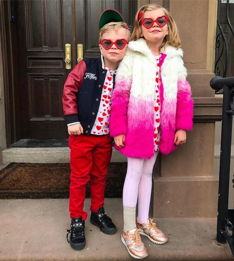 """<p>The <i>How I Met Your Mother</i> alum shared a shot of his """"two bundles of love,"""" better known as Gideon and Harper. The actor's adorable twins were stylin' in their heart-adorned ensembles and corresponding sunglasses. While Harper was also sporting an ankle brace, it was hard to focus on that when she had on such a fun, vibrant coat that we kind of want for ourselves. (Photo: <a rel=""""nofollow noopener"""" href=""""https://www.instagram.com/p/BQgSEycDfMU/"""" target=""""_blank"""" data-ylk=""""slk:Instagram"""" class=""""link rapid-noclick-resp"""">Instagram</a> </p>"""