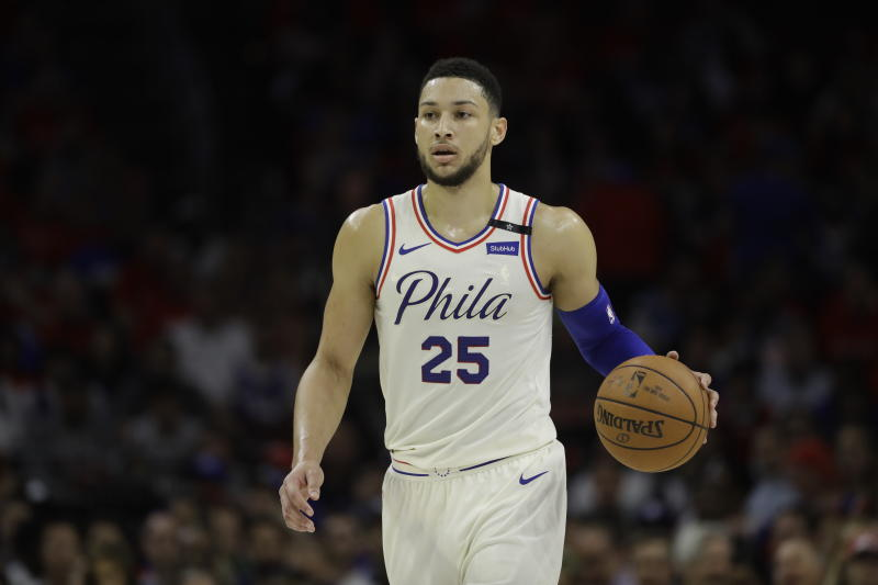 Ben Simmons of Philadelphia 76ers claims NBA's rookie of year award