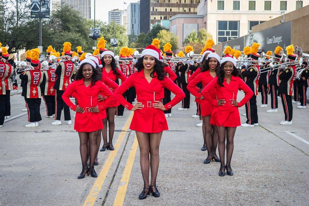 <p><strong>Bayou Classic Thanksgiving Day Parade</strong><br /> Last year, about 80,000 people turned out for this annual parade, the first event in a 4-day celebration that grew up around an annual football game between local rivals Grambling State and Southern University. The parade steps off at the Mercedes Benz Superdome at 3:30 p.m. CST, and ends at the French Market.</p>