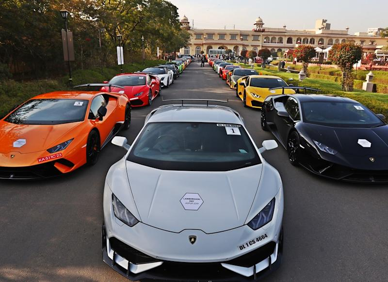 Can You Guess How Many Lamborghini Are In India