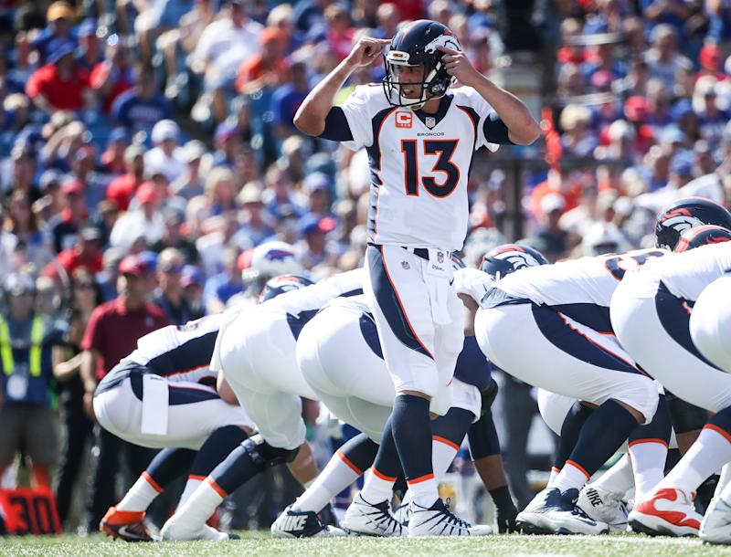 Trevor Siemian's limitations are starting to glare for the Broncos. (Getty Images)