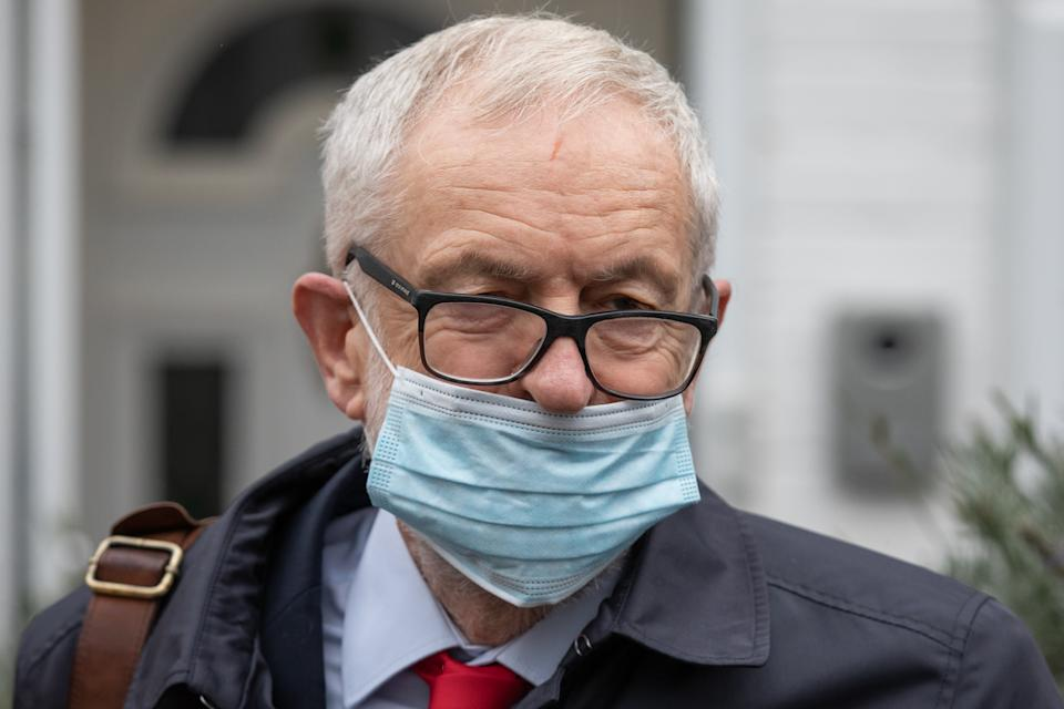 Former Labour leader Jeremy Corbyn was suspended by the Labour party over his reaction to the EHRC report.