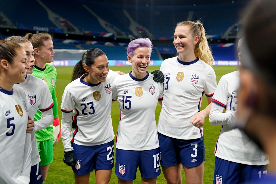 The USWNT will play Sweden in their first Olympics match in July, the same team that eliminated them at the 2016 Olympics. (Photo by Brad Smith/ISI Photos/Getty Images)