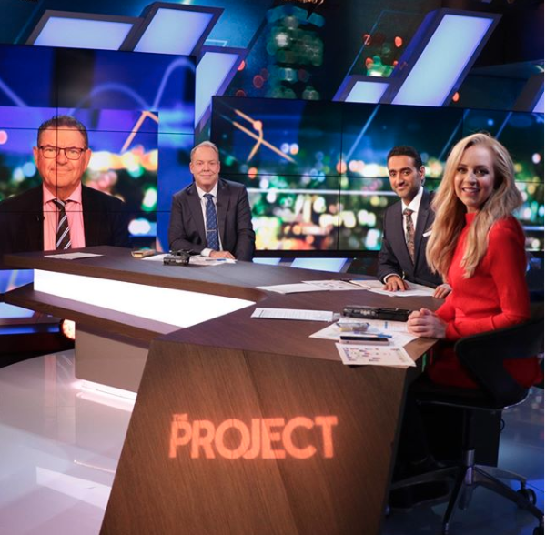 The Project. Photo: Channel 10