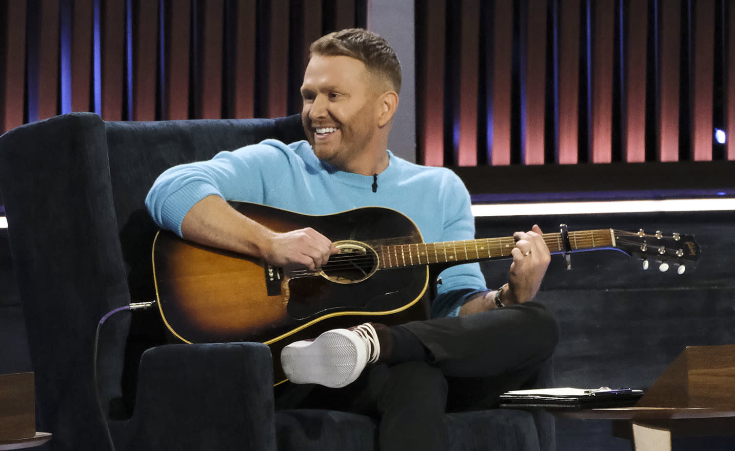 Shane McAnally on 'Songland.' (Photo: Trae Patton/NBC/NBCU Photo Bank/NBCU Photo Bank)