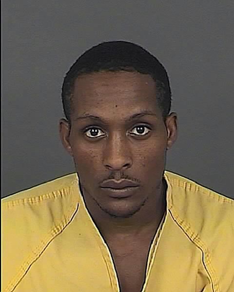 This photo provided by the Denver Police Dept. shows Lynell Hill. Hill and two men were arrested for investigation of murder after a Denver bar was set on fire to cover up five killings committed during a robbery, authorities said Thursday, Oct. 18, 2012. (AP Photo/Denver Police Dept.)
