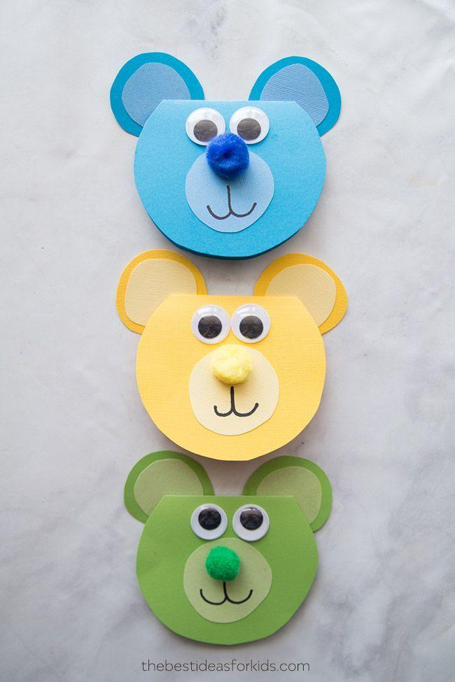 """<p>Perfect for Papa Bear, have your kids write a special message inside about why they love dad so beary much. </p><p><em><a href=""""https://www.thebestideasforkids.com/bear-craft/"""" rel=""""nofollow noopener"""" target=""""_blank"""" data-ylk=""""slk:Get the tutorial at The Best Ideas for Kids »"""" class=""""link rapid-noclick-resp"""">Get the tutorial at The Best Ideas for Kids »</a></em> </p>"""