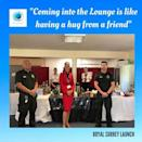 "<p>A new initiative called Project Wingman, set up by two pilots and fronted by furloughed airline staff as volunteers, is providing NHS workers with a first class lounge experience between shifts.</p><p>Staff can indulge in a nice cup of tea with handmade sandwiches, specially crafted sweet treats plus a browse of luxury magazines including <a href=""https://www.elle.com/uk/fashion/a32081398/elle-digital-issue-app/"" rel=""nofollow noopener"" target=""_blank"" data-ylk=""slk:ELLE"" class=""link rapid-noclick-resp"">ELLE</a>.</p><p>So far, there are 60 lounges open run by 4000 volunteers.</p><p><a href=""https://www.instagram.com/p/CAcssaVFTPM/"" rel=""nofollow noopener"" target=""_blank"" data-ylk=""slk:See the original post on Instagram"" class=""link rapid-noclick-resp"">See the original post on Instagram</a></p>"