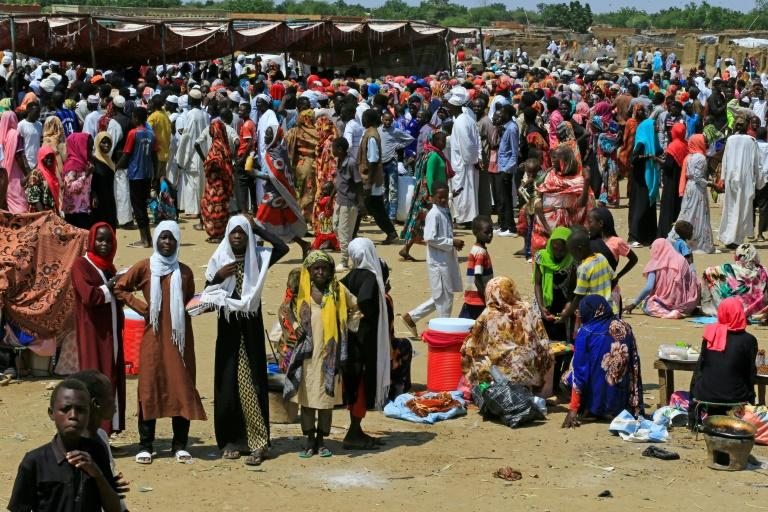 The war in Darfur killed around 300,000 people and displaced 2.5 million, with tens of thousands living in the sprawling Camp Kalma since 2003 (AFP Photo/ASHRAF SHAZLY)