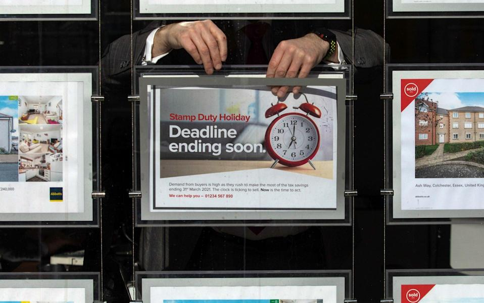 The property sales tax holiday will be extended in England but not Scotland - Bloomberg