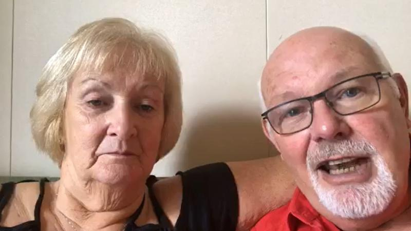 Coronavirus: David and Sally Abel being 'well looked after' in hospital
