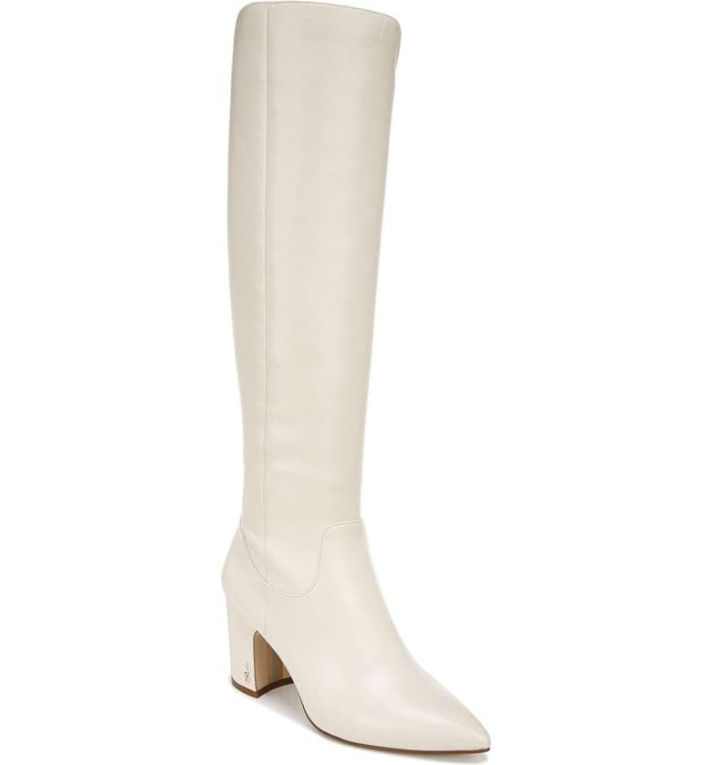 "<p>These comfy <a href=""https://www.popsugar.com/buy/Sam-Edelman-Hai-Knee-High-Boots-497147?p_name=Sam%20Edelman%20Hai%20Knee-High%20Boots&retailer=shop.nordstrom.com&pid=497147&price=200&evar1=fab%3Aus&evar9=46708110&evar98=https%3A%2F%2Fwww.popsugar.com%2Ffashion%2Fphoto-gallery%2F46708110%2Fimage%2F46708349%2FSam-Edelman-Hai-Knee-High-Boots&list1=shopping%2Cfall%20fashion%2Cshoes%2Cboots%2Cfall&prop13=api&pdata=1"" rel=""nofollow"" data-shoppable-link=""1"" target=""_blank"" class=""ga-track"" data-ga-category=""Related"" data-ga-label=""https://shop.nordstrom.com/s/sam-edelman-hai-knee-high-boot-women/4978573?origin=category-personalizedsort&amp;breadcrumb=Home%2FWomen%2FShoes%2FBoots&amp;color=beach%20multi%20leather"" data-ga-action=""In-Line Links"">Sam Edelman Hai Knee-High Boots</a> ($200) come in so many color choices.</p>"