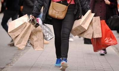 High Street In Sales Frenzy Amid Gloomy June