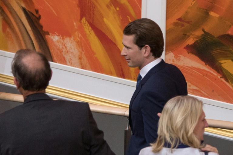 Kurz leaves parliament after losing a confidence vote in May 2019