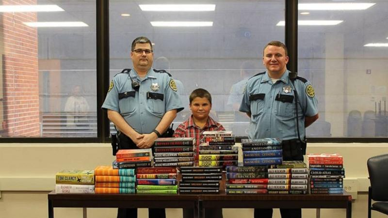 9-Year-Old Boy Uses Allowance Money to Donate Books to Local Jail