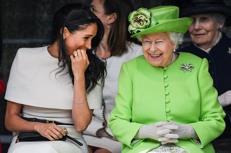 The Queen Sent a Subtle Message With Her Birthday Post for Meghan