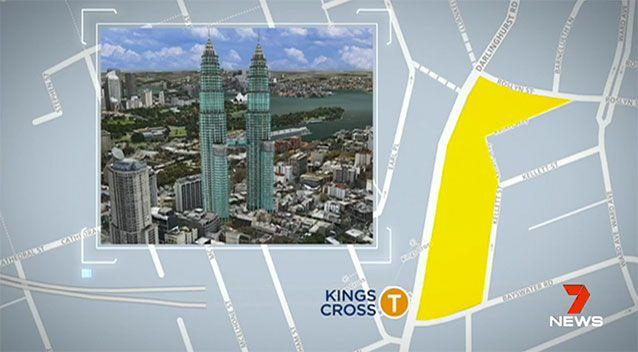 The plan could resemble Malaysia's Petronas Towers. Source: 7 News