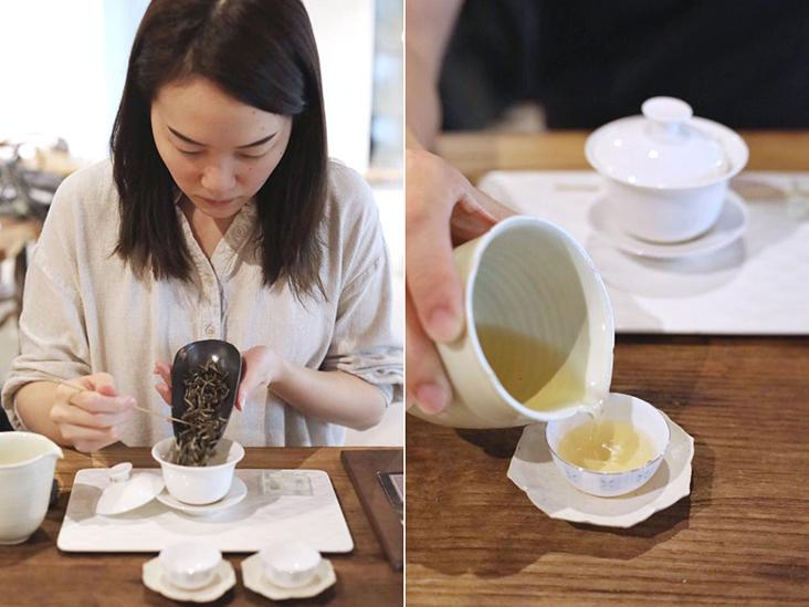 Brewing Chinese tea the traditional way is a slow, practised art.