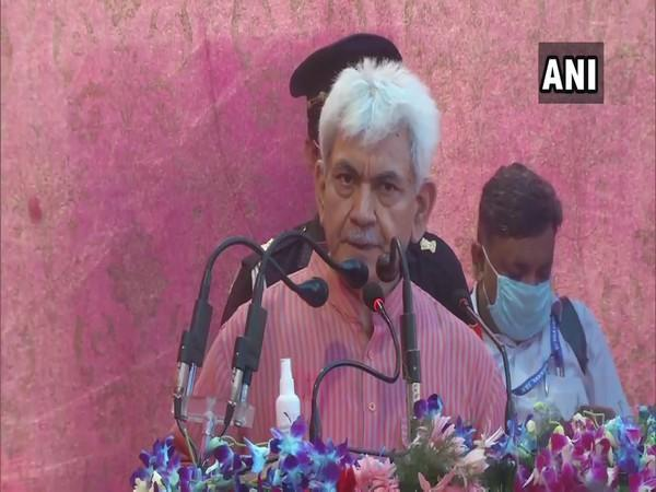Jammu and Kashmir Lieutenant Governor Manoj Sinha (File Photo/ANI)