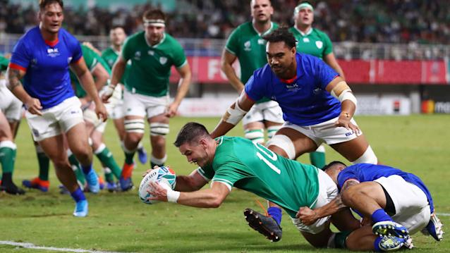 Rugby World Cup extended highlights: Ireland 47, Samoa 5