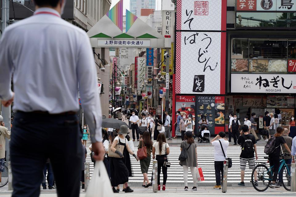 Virus Outbreak Japan (Copyright {yr4} The Associated Press. All rights reserved)