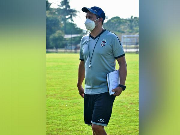 Churchill Brothers FC Goa head coach Fernando Varela (Photo/ I-League)