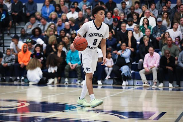 Scotty Pippen Jr. is going to Vanderbilt. (Getty Images)