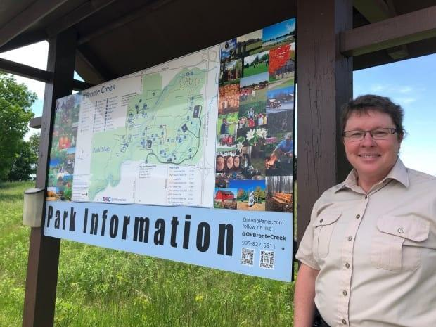 Sheila Wiebe, park education specialist at Bronte Creek Provincial Park, says overcrowding at parks is a bit worrisome due to its environmental impact,