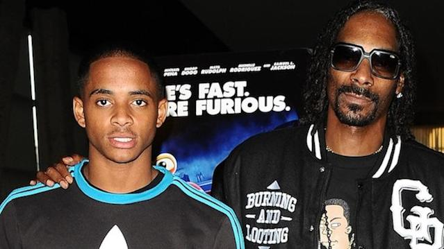 Snoop and his star football recruit son Cordell Broadus appear headed for Las Vegas -- Getty Images