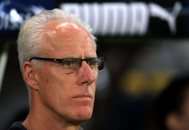 Mick McCarthy's Republic of Ireland can secure their place at Euro 2020 against Denmark (Simon Cooper/PA)
