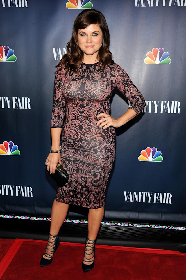 NEW YORK, NY - SEPTEMBER 16: Actress Tiffani Thiessen attends NBC's 2013 Fall Launch Party Hosted By Vanity Fair at The Standard Hotel on September 16, 2013 in New York City. (Photo by Ben Gabbe/Getty Images)