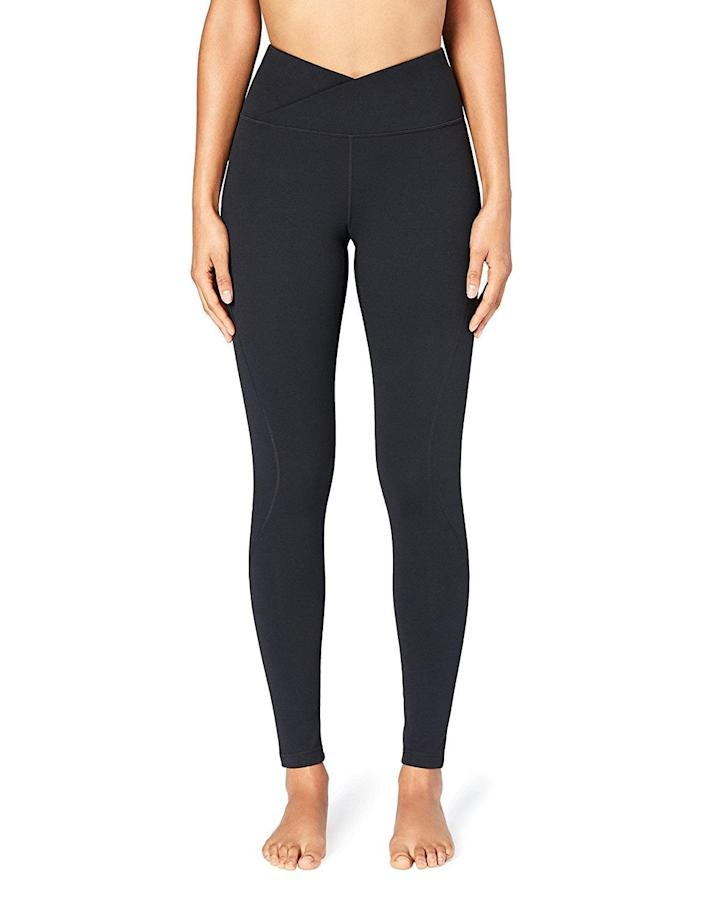 <p>Customers praise the <span>Core 10 Women's Build Your Own Yoga Pant Full-Length Legging</span> ($47) because they're comfortable and warm yet breathable, plus they're available in extended sizing.</p>