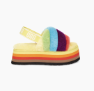 """<p><strong>UGG</strong></p><p>ugg.com</p><p><strong>$110.00</strong></p><p><a href=""""https://go.redirectingat.com?id=74968X1596630&url=https%3A%2F%2Fwww.ugg.com%2Fall-gender-footwear%2Fdisco-stripe-slide%2F1120875.html%3Fdwvar_1120875_color%3DPRCM&sref=https%3A%2F%2Fwww.seventeen.com%2Flife%2Fg20195640%2Fgay-pride-clothing-lgtbq-friendly-companies%2F"""" rel=""""nofollow noopener"""" target=""""_blank"""" data-ylk=""""slk:Shop Now"""" class=""""link rapid-noclick-resp"""">Shop Now</a></p><p>Considering I haven't worn real shoes in days, this collab literally couldn't have come at a better time. <a href=""""https://go.redirectingat.com?id=74968X1596630&url=https%3A%2F%2Fwww.ugg.com%2Fon%2Fdemandware.store%2FSites-UGG-US-Site%2Fdefault%2FHome-Show&sref=https%3A%2F%2Fwww.seventeen.com%2Flife%2Fg20195640%2Fgay-pride-clothing-lgtbq-friendly-companies%2F"""" rel=""""nofollow noopener"""" target=""""_blank"""" data-ylk=""""slk:UGG"""" class=""""link rapid-noclick-resp"""">UGG</a> launched their <a href=""""https://go.redirectingat.com?id=74968X1596630&url=https%3A%2F%2Fwww.ugg.com%2Fpride-for-all%2F&sref=https%3A%2F%2Fwww.seventeen.com%2Flife%2Fg20195640%2Fgay-pride-clothing-lgtbq-friendly-companies%2F"""" rel=""""nofollow noopener"""" target=""""_blank"""" data-ylk=""""slk:all-gender Pride collection"""" class=""""link rapid-noclick-resp"""">all-gender Pride collection</a>, packed with plush slippers and soft hoodies all printed in the colors of <a href=""""https://www.seventeen.com/life/g32577915/lgbtq-pride-flags/"""" rel=""""nofollow noopener"""" target=""""_blank"""" data-ylk=""""slk:various LGBTQ+ flags"""" class=""""link rapid-noclick-resp"""">various LGBTQ+ flags</a>. They will be <strong>making a </strong><strong>$25 donation per purchase of the Disco Stripe Slide</strong><strong> to </strong><strong><a href=""""https://www.glaad.org/"""" rel=""""nofollow noopener"""" target=""""_blank"""" data-ylk=""""slk:GLAAD"""" class=""""link rapid-noclick-resp"""">GLAAD</a></strong><strong>, up to a maximum guaranteed donation of $125,000</strong>.</p>"""